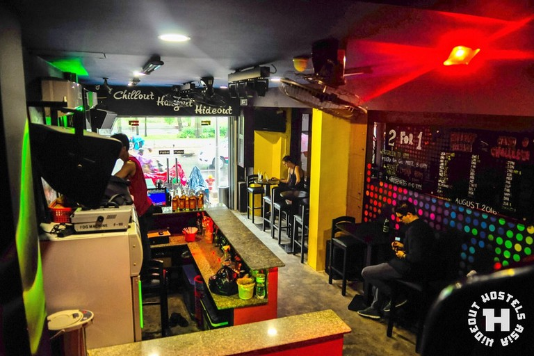 Bar at Hideout Hostels Asia - Saigon | Courtesy of Hideout Hostels Asia