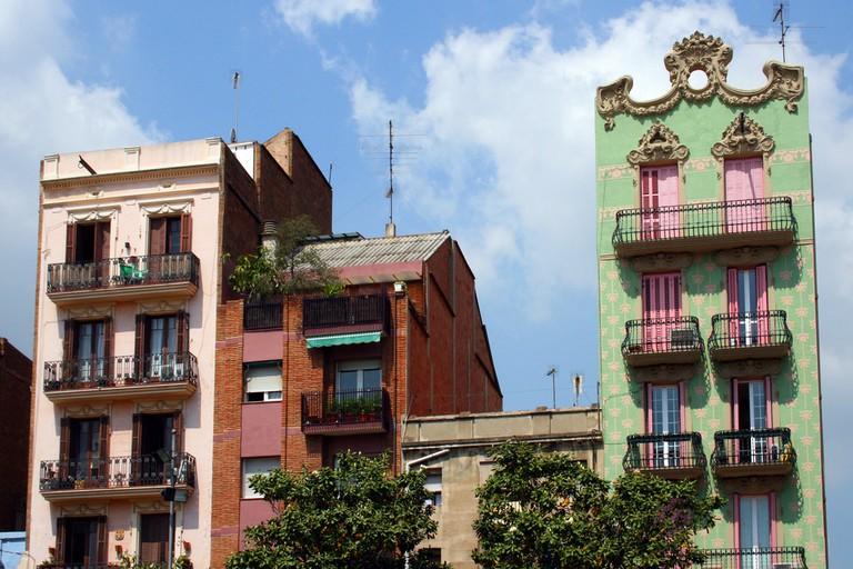 The Gràcia neighbourhood © Bert Kaufmann