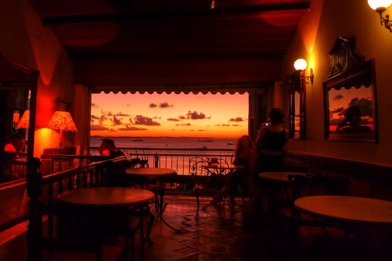 Sunset from Cafelier
