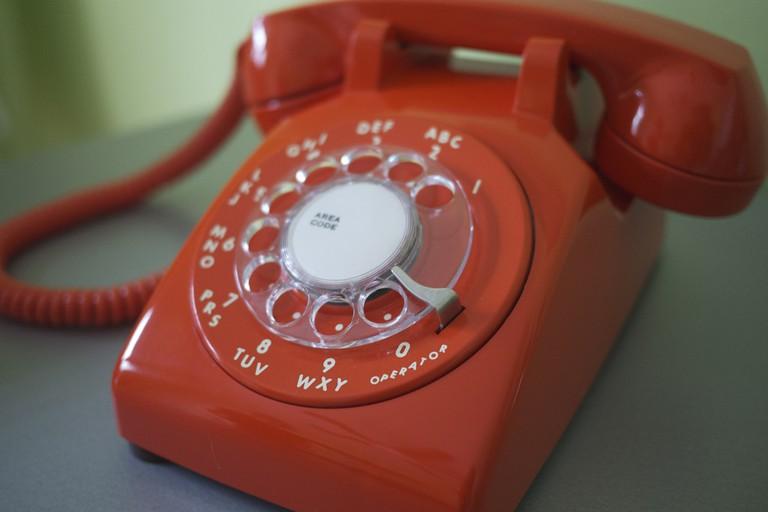 Retro telephones © Nate Steiner