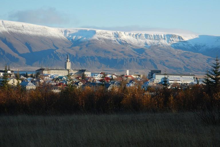 Reykjavik and Mount Esja   © Glenn Harper/Flickr