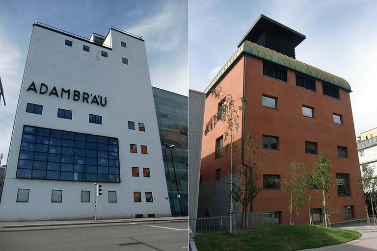 Ehem. Adambräu - Sudhaus und Kühlschiff