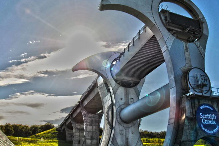 Falkirk Wheel | © Pranavian/Flickr