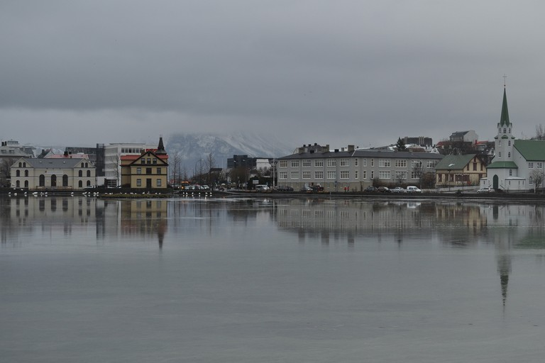Iceland-Reykjavik-Tjornin
