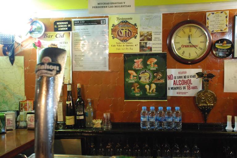 Bar El Cid, Logroño