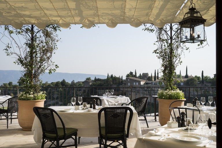 The hotel and spa is situated overlooking the beautiful Luberon