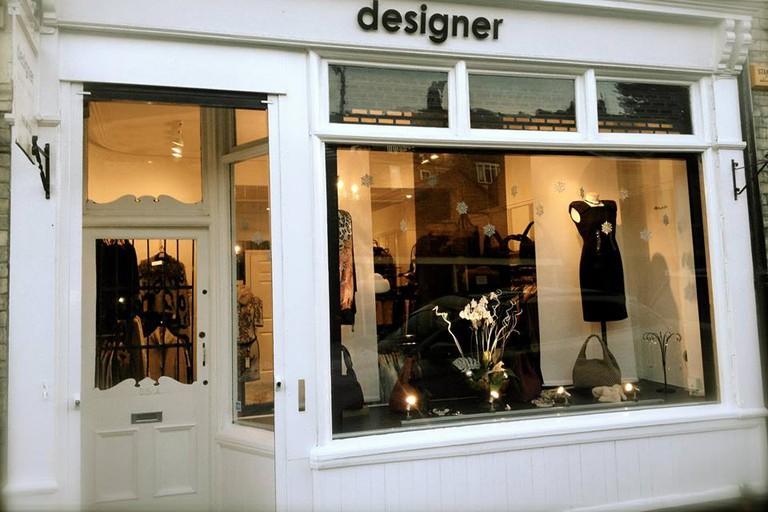 Shopfront of Designer Boutique