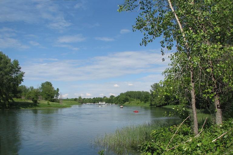 Chenal Grande-Rivière, dans le Parc des Îles de Boucherville