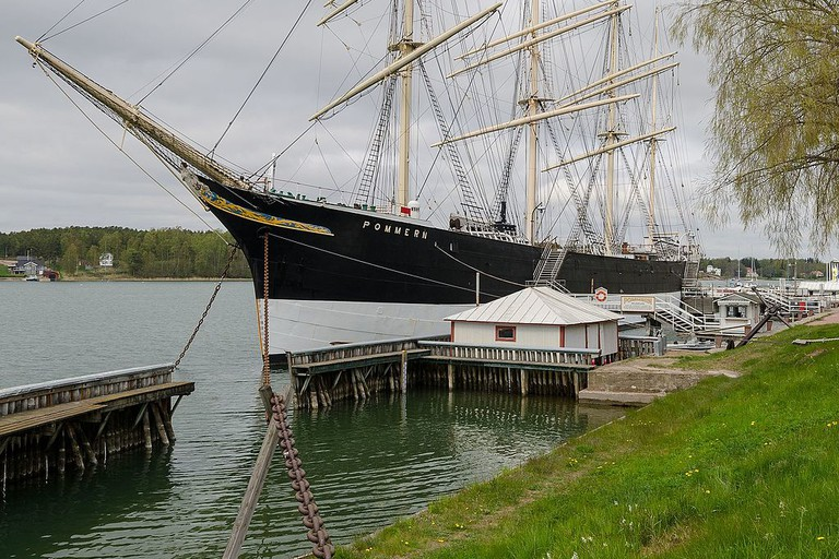 The Pommern at the Maritime Museum