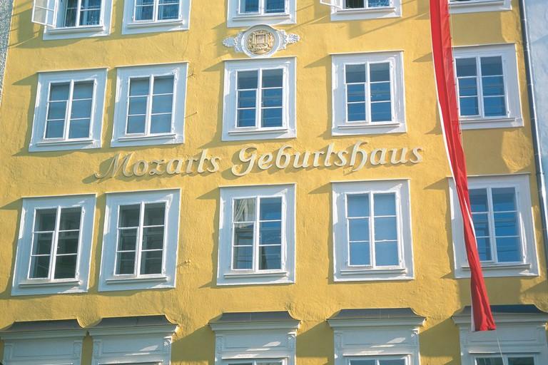 Birthplace of W.A. Mozart in Salzburg | © Österreich Werbung / Diejun