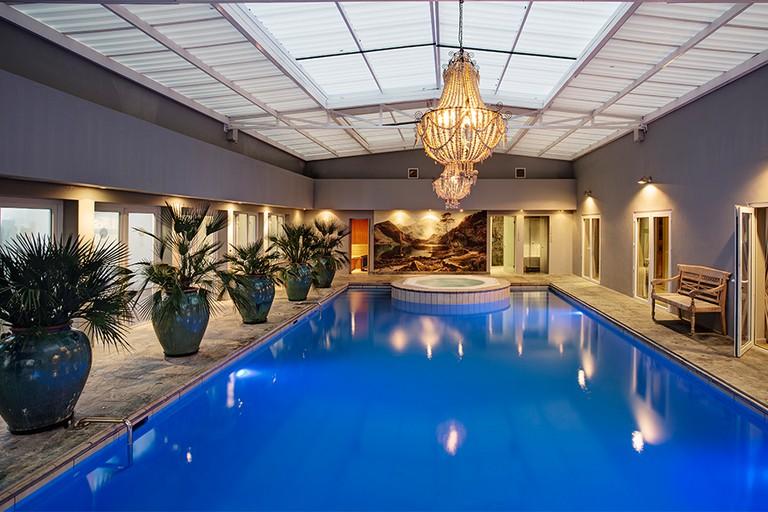 Indoor pool at Majeka House Spa