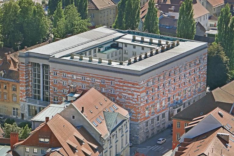 National and University Library of Slovenia, Turjaška ulica