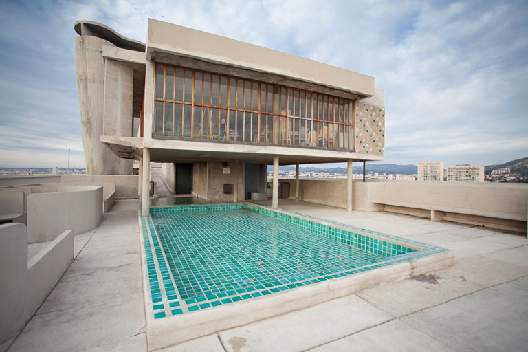 Corbusier's modernist Unité d'Habitation is a city within a city in Marseille