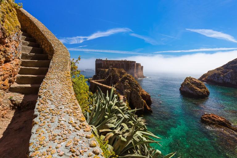 Fort in Berlenga island, Portugal
