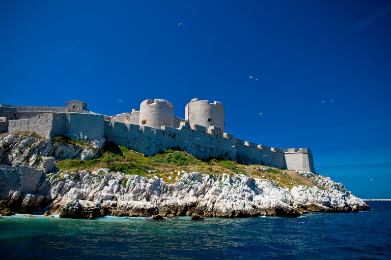 The Château d'If off the coast of Marseille is stunning and only a short boat ride away