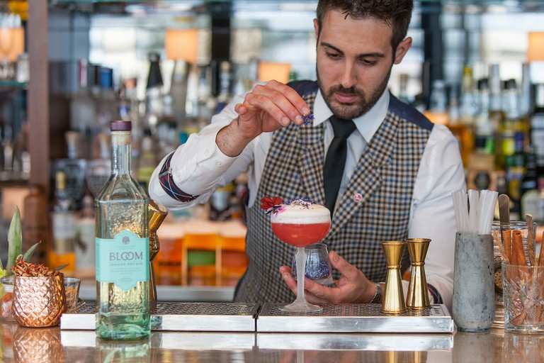 The Bloomsbury Cocktail at Sky Garden