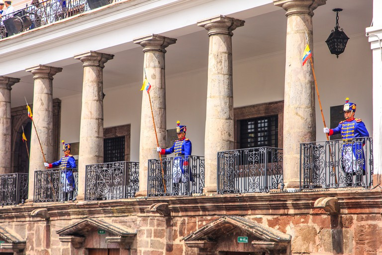 Palacio de Carondolet, Quito