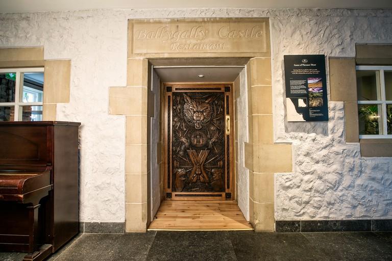 Door 9 at Ballygally Castl