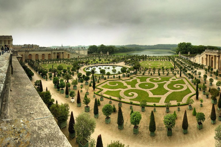 The Orangerie at Versaille Panoramas/Flickr
