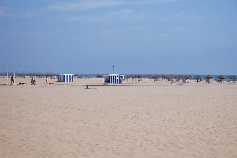 Las Arenas beach, Valencia