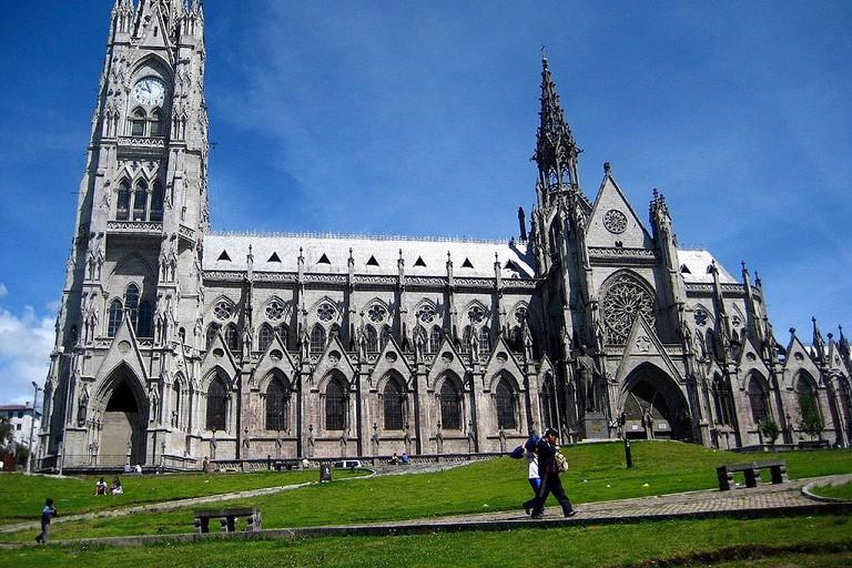 La Basilica del Voto Nacional, Quito