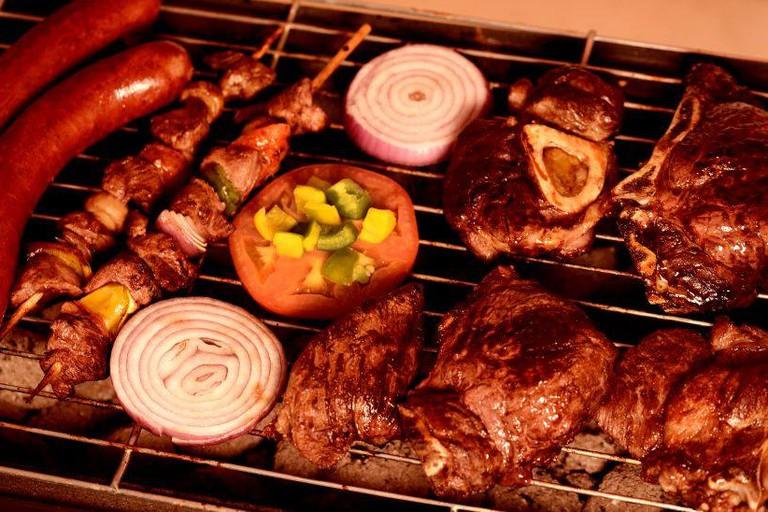 BBQ charcoal grill, Abuja