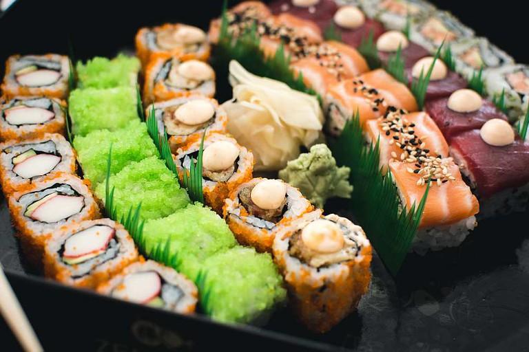 Sushi at Izanagi Japanese Cuisine