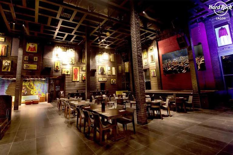 Inside Hard Rock Café, Lagos