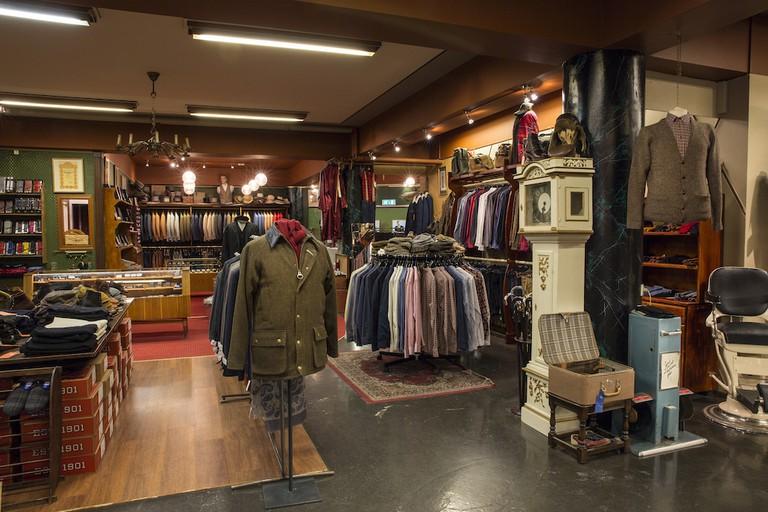 Kormákur & Skjaldar Men´s shop on Laugavegur 59
