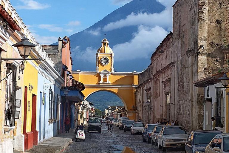 Santa Catalina Arch & Aqua Volcano, Antigua Guatemala