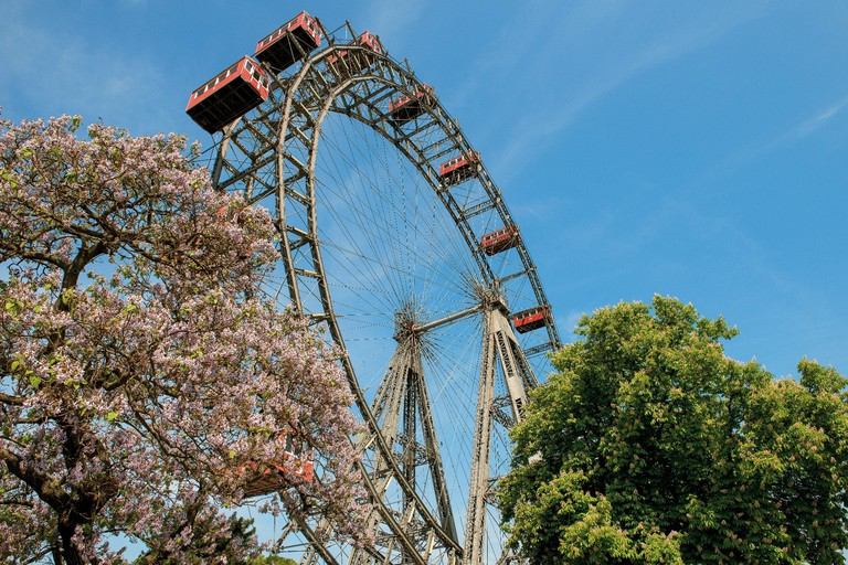 The iconic Ferris wheel, Riesenrad