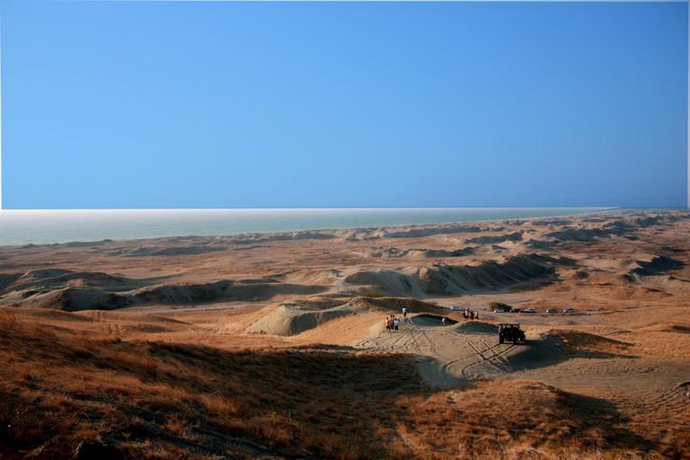 La Paz Sand Dunes in Ilocos