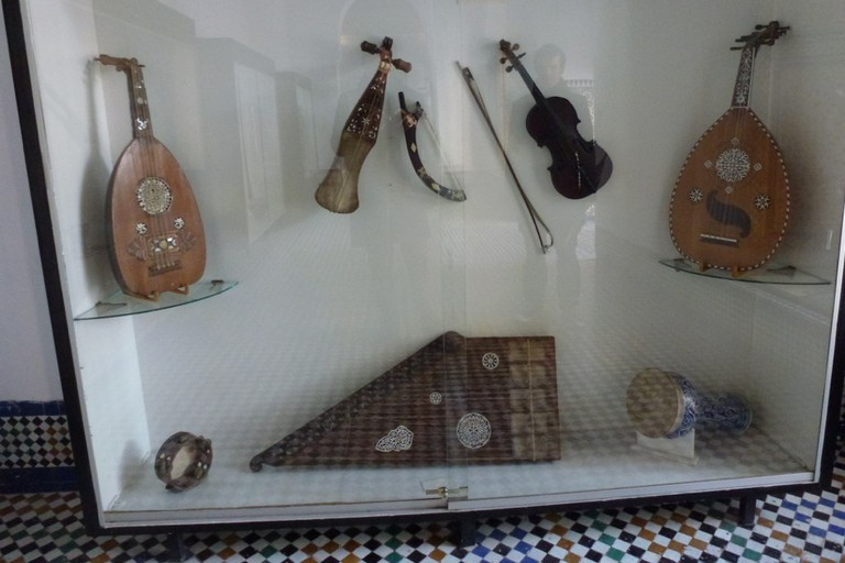 Andalusian musical instruments on display at the Museum of Andalusian Music