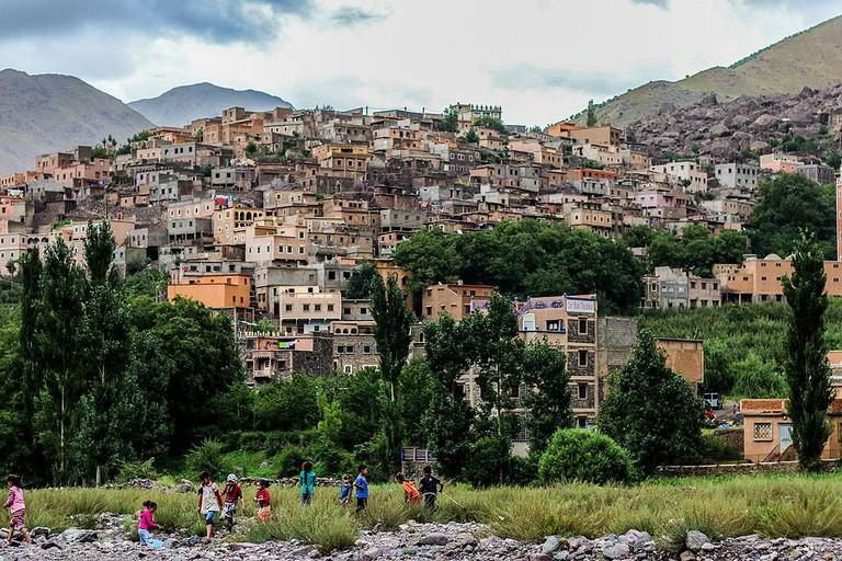 Village in Toubkal National Park