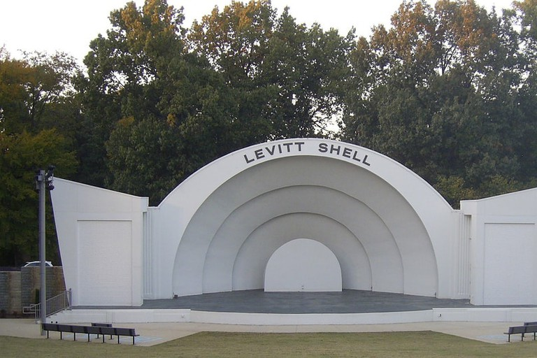 Levitt Shell at Overton Park