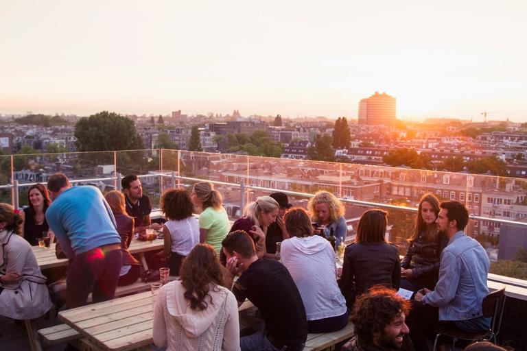 Canvas' rooftop terrace