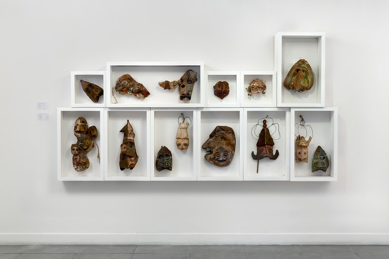 Installation view, Franciszka Themerson UBU, Richard Saltoun Gallery, London