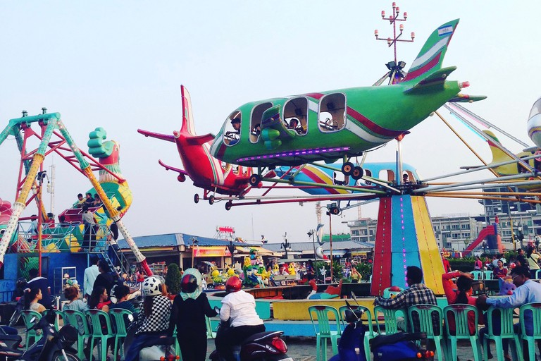 The fairground at Koh Pich