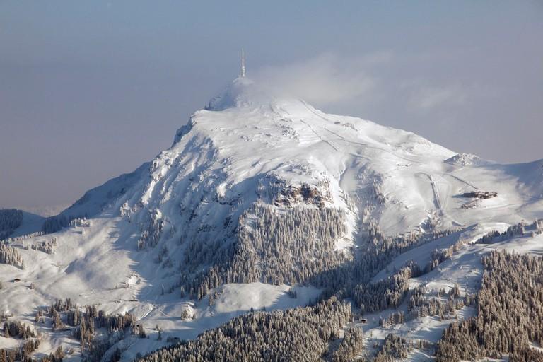 View of the Kitzbüheler Horn mountain