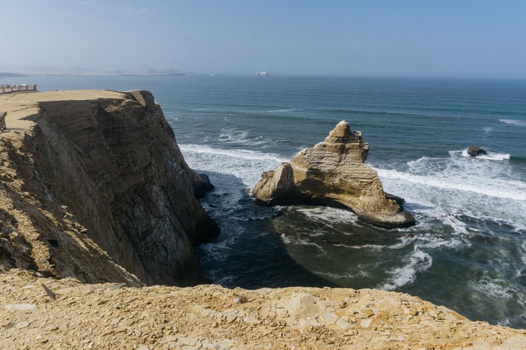 The coast of Paracas