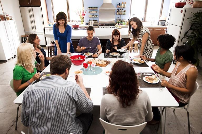 Spork Foods cooking class