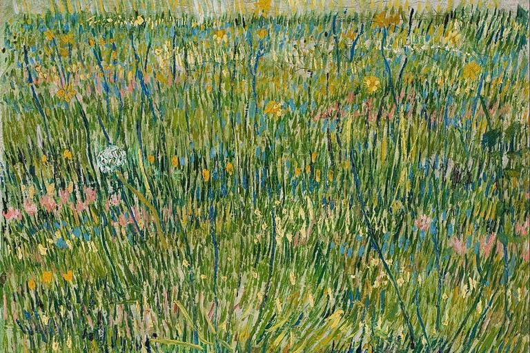 Vincent van Gogh, Patch of Grass (1887)