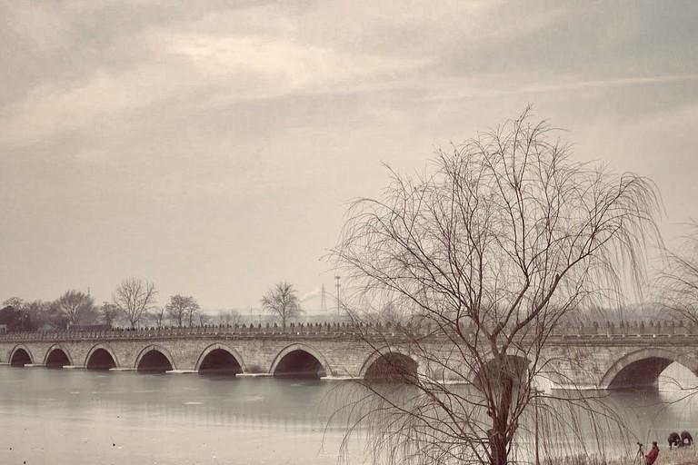 The Lugou Bridge (The Marco Polo Bridge)