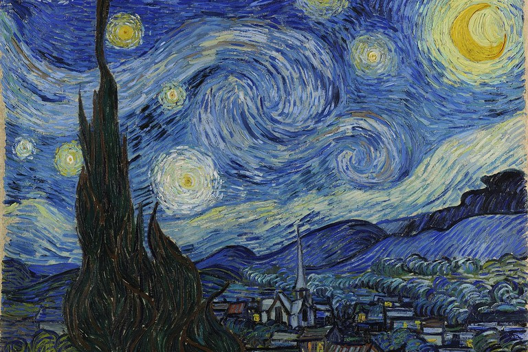 Vincent van Gogh, The Starry Night (1889)
