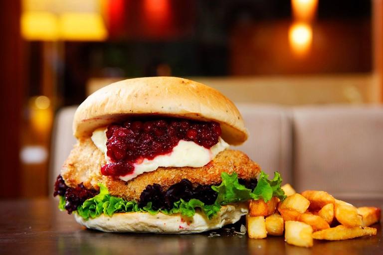 Gourmet Burger Kiwi Style