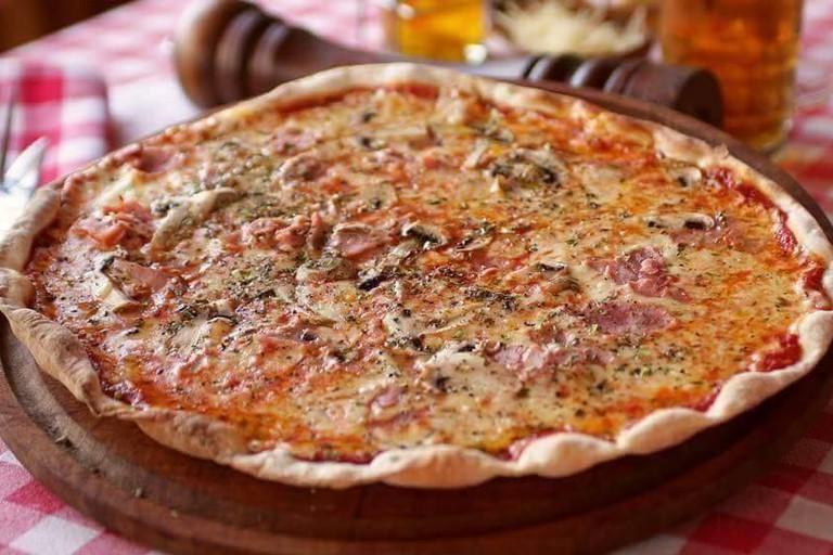 Pizza at Da Alessandro Ristorante