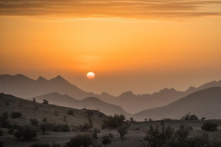 Sunrise of Jebel Akhdar