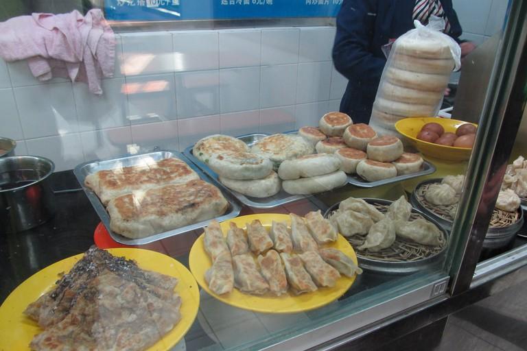 Halal Chinese food at a Muslim restaurant in Niujie