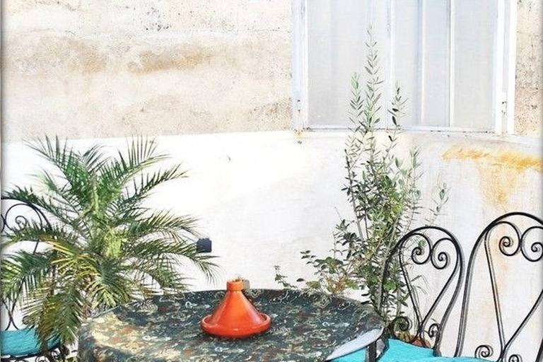 Rooftop terrace @ Lala Wafae