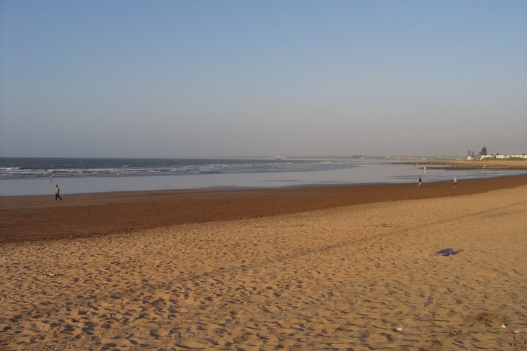 Beach at El Jadida